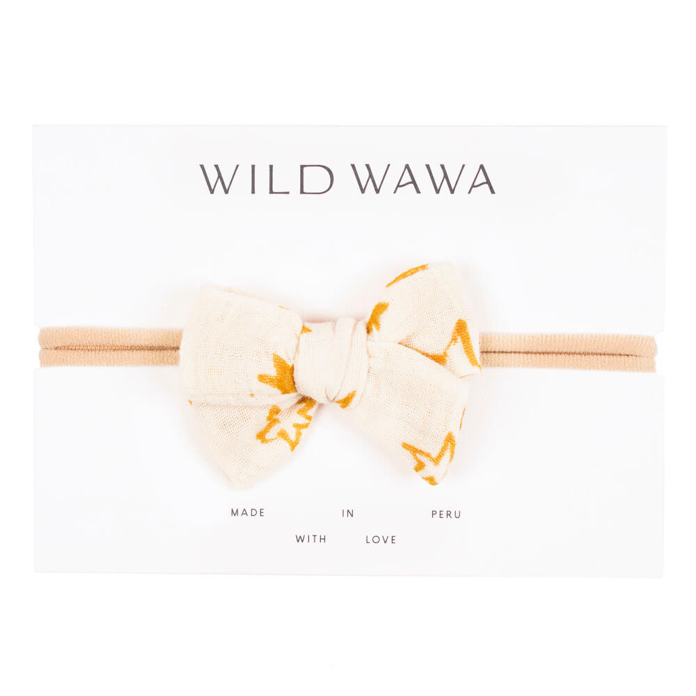 Wild Wawa Bow Headband Cloud Stars | Tiny People