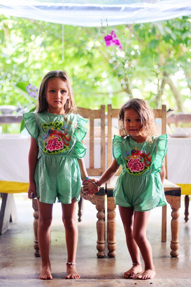 Coco & Ginger Delphine Playsuit Mint - Tiny People Cool Kids Clothes Byron Bay