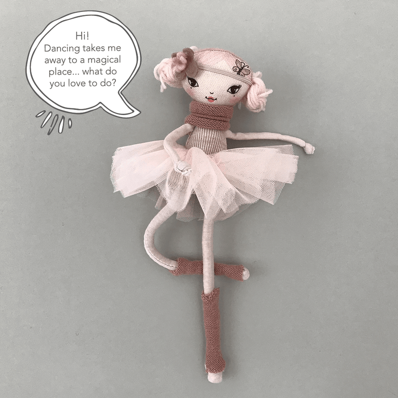 These Little Treasures Miss Ballet Box | Tiny People