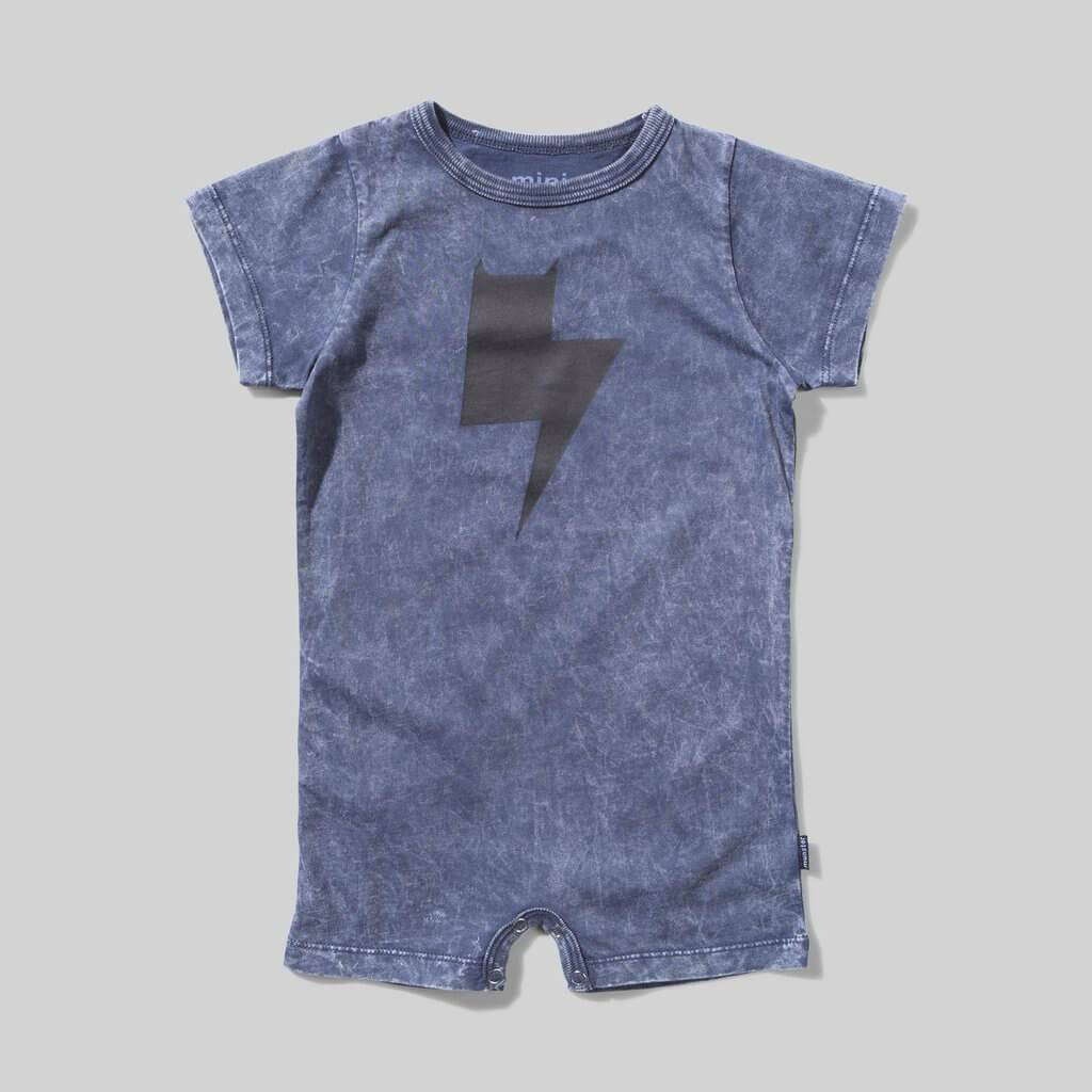 Mini Munster Electric Onesie | Tiny People