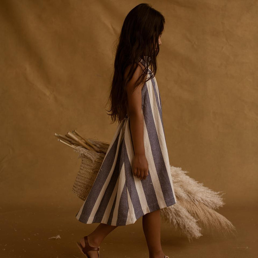 Feather Drum Elena Sack Dress - Tiny People Cool Kids Clothes Byron Bay