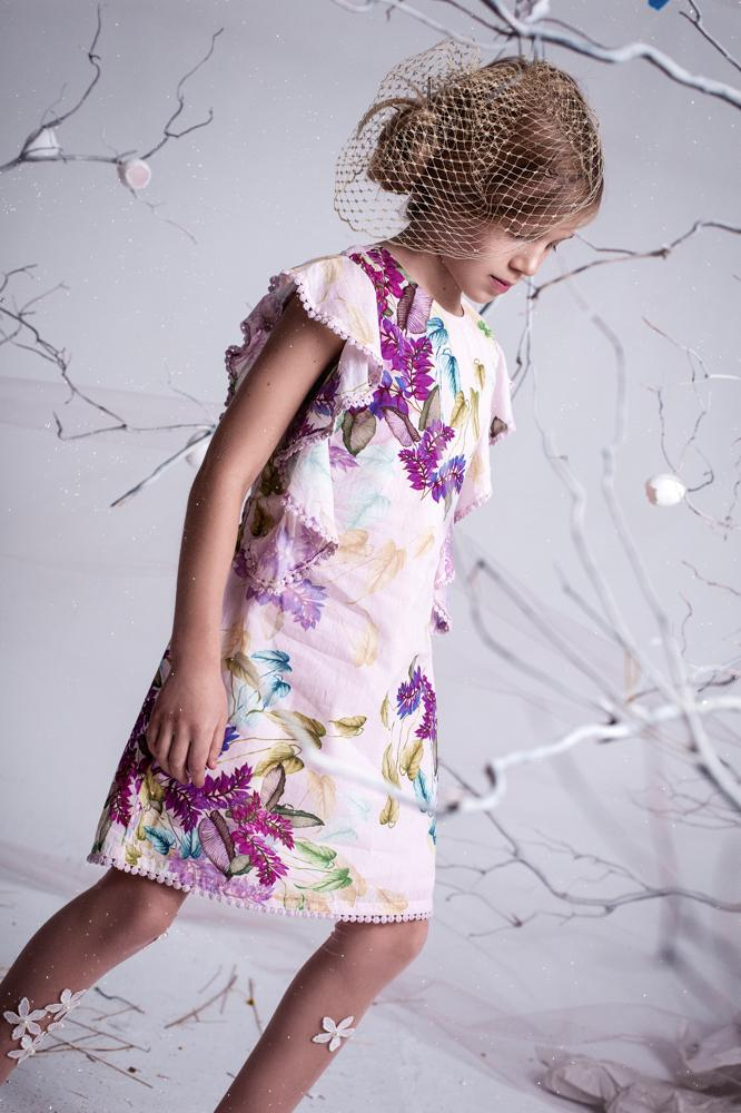 Arctic Flowers Dress