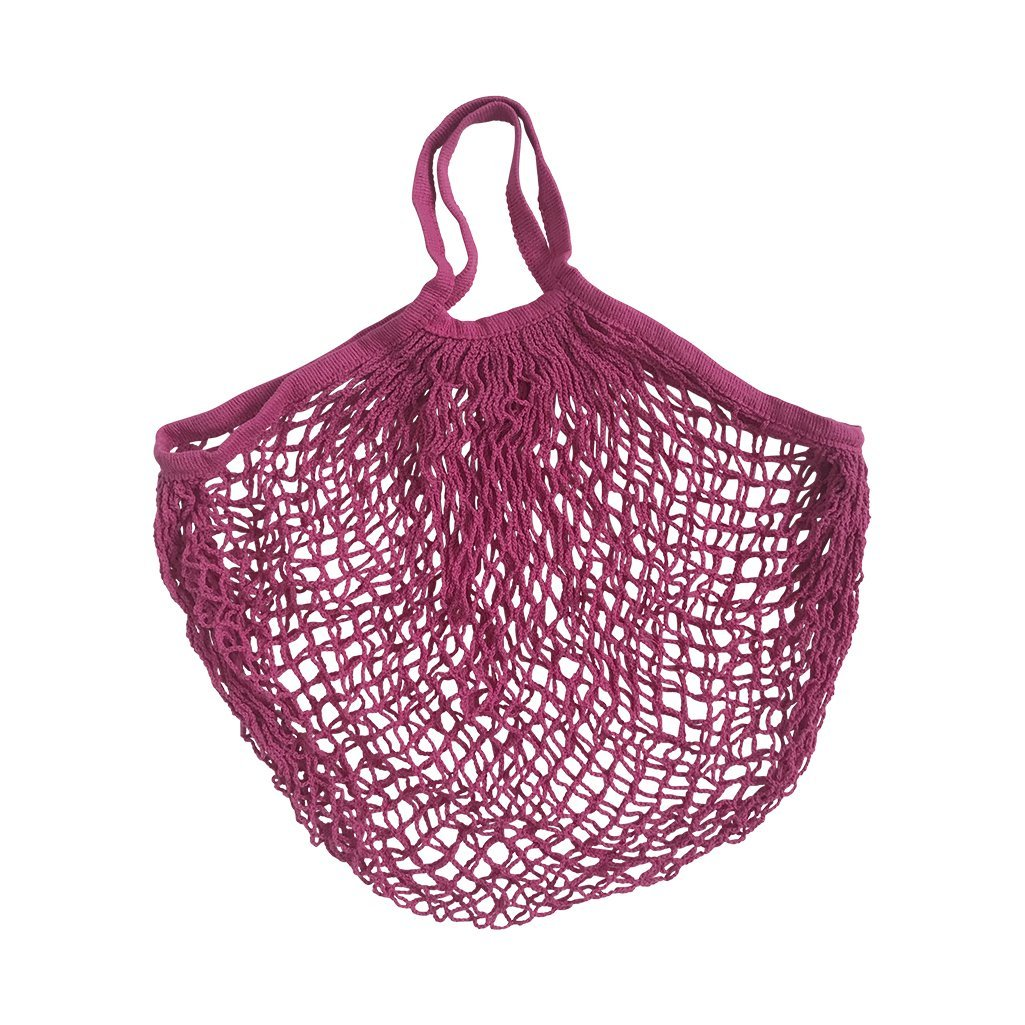 String Shopper Bright Pink