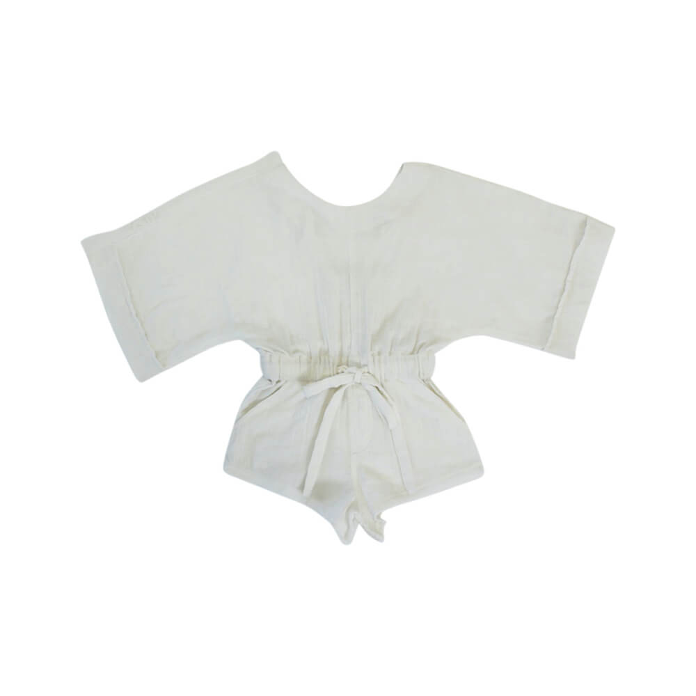 Lin Playsuit Milk