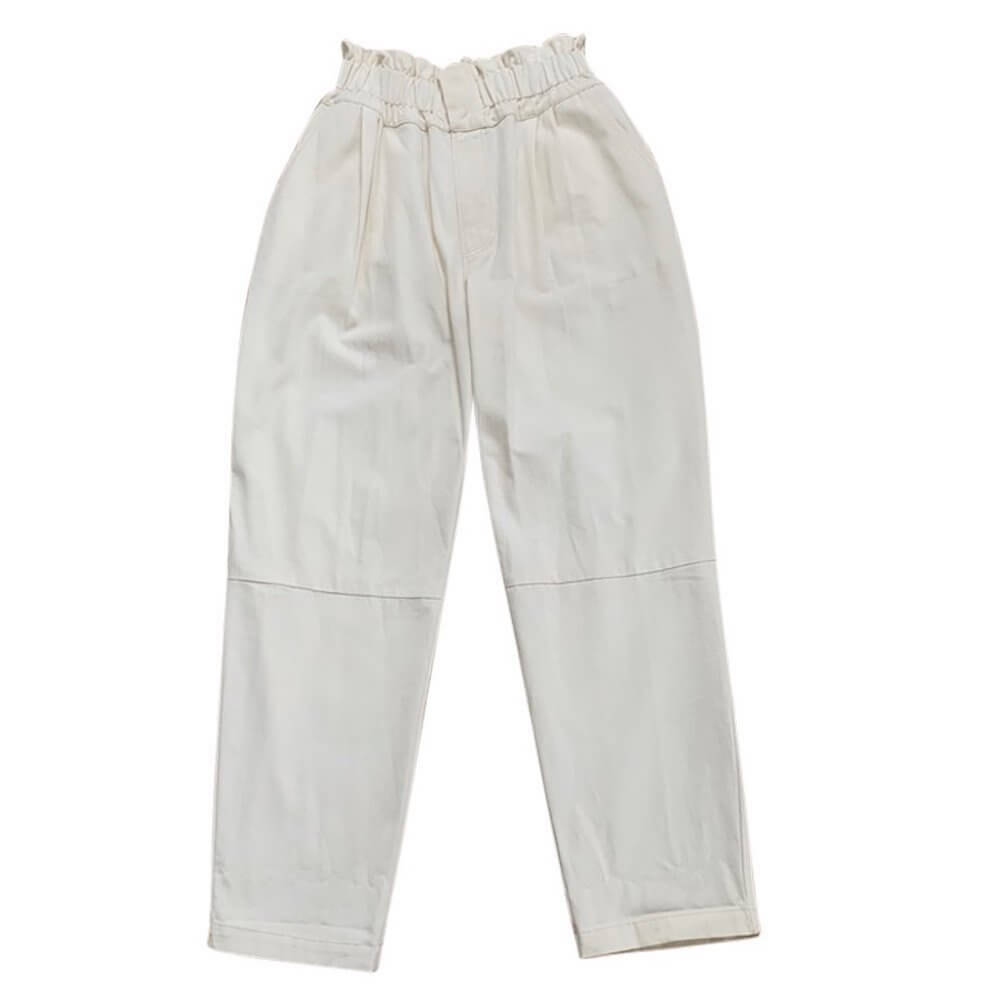 Feather Drum Women's Leandra Pant Milk | Tiny People
