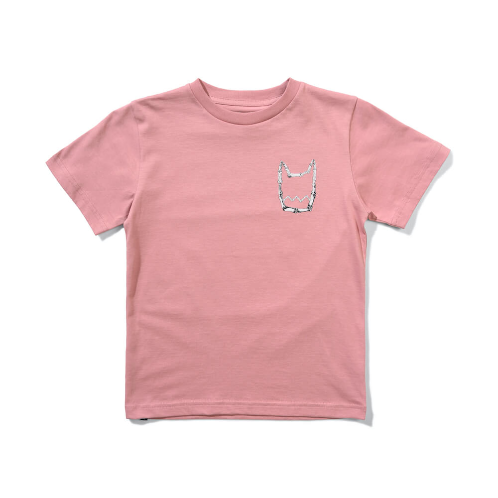 Munster  Fly The Flag Tee Dusty Pinkl | Tiny People