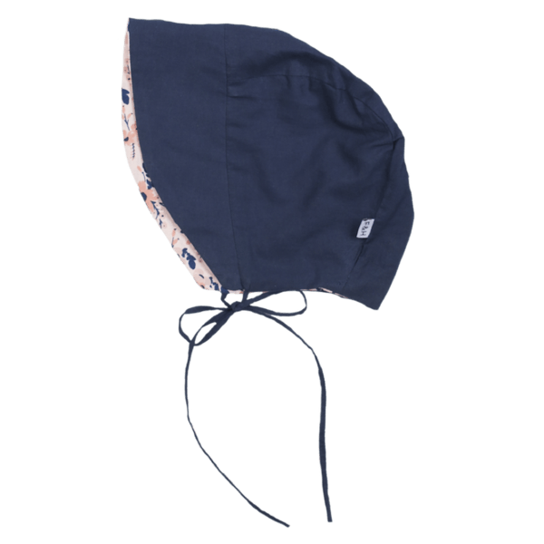 Fox & Horn Summer Bonnet - Navy - Tiny People Cool Kids Clothes Byron Bay