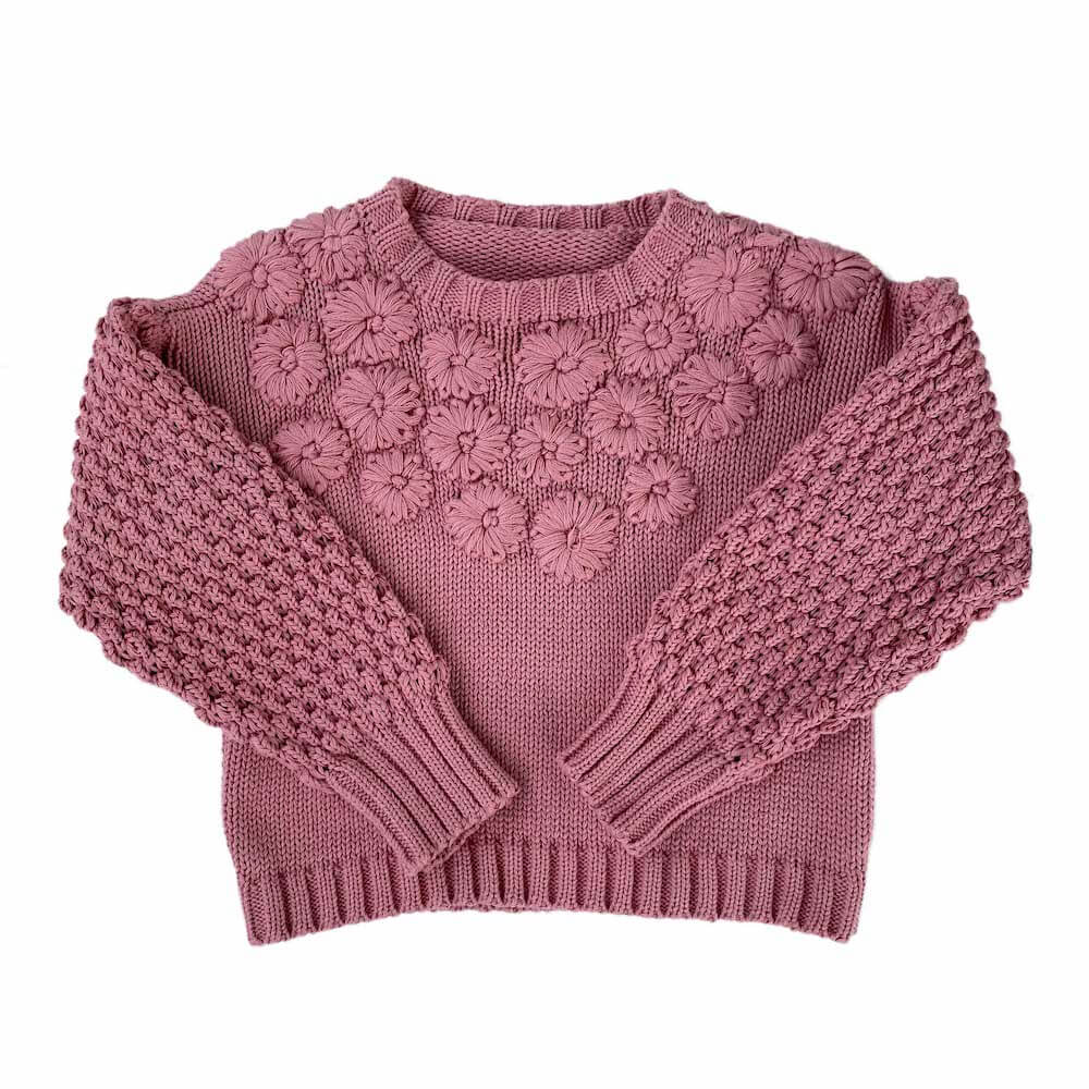 Fleur Jumper Dusty Rough
