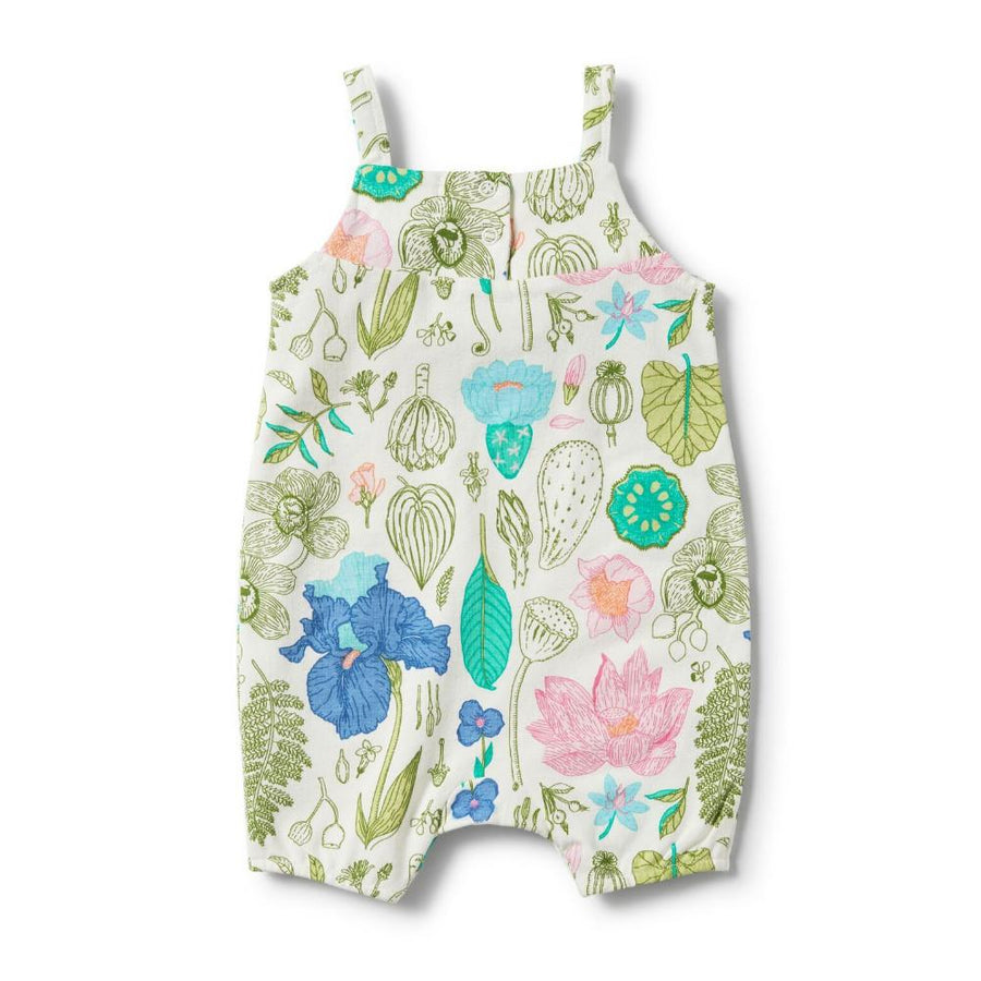 Wilson and Frenchy Flora Ruffle Playsuit - Tiny People Cool Kids Clothes Byron Bay
