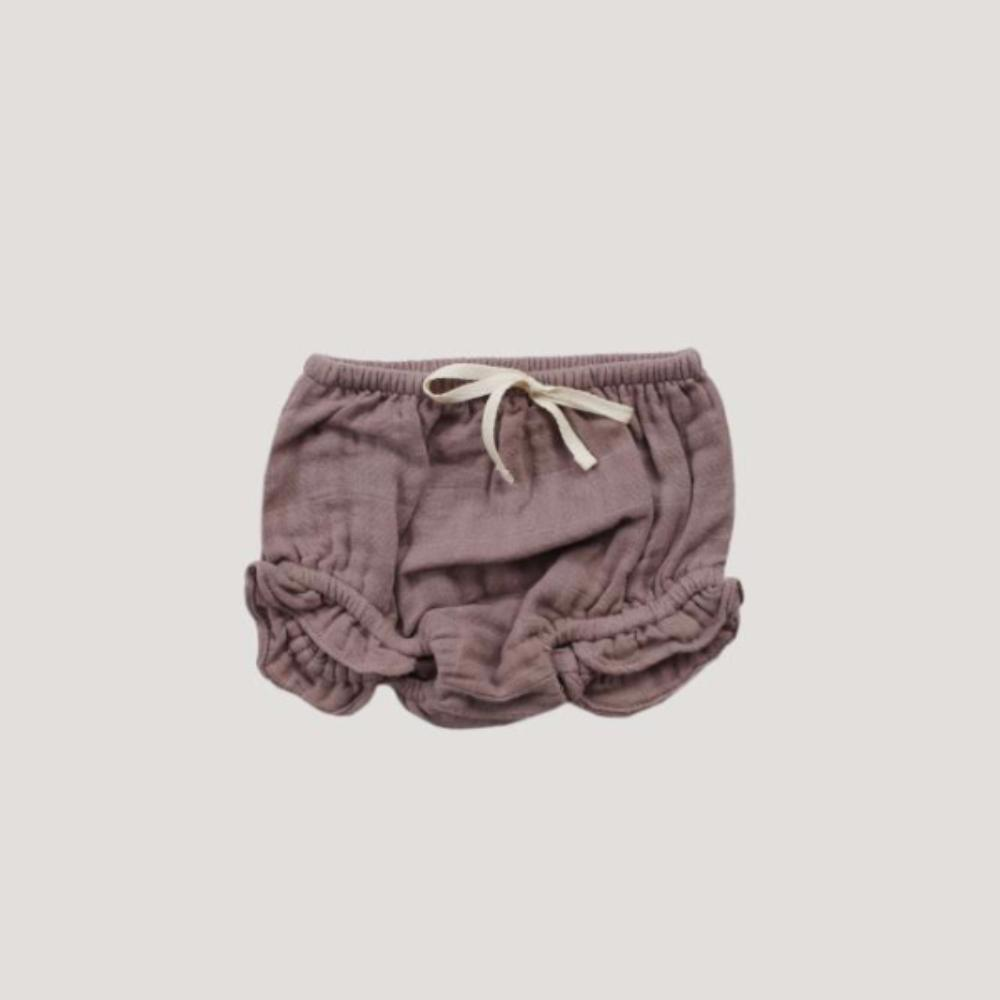 Jamie Kay Frill Bloomers in Rosy at Tiny People shop.