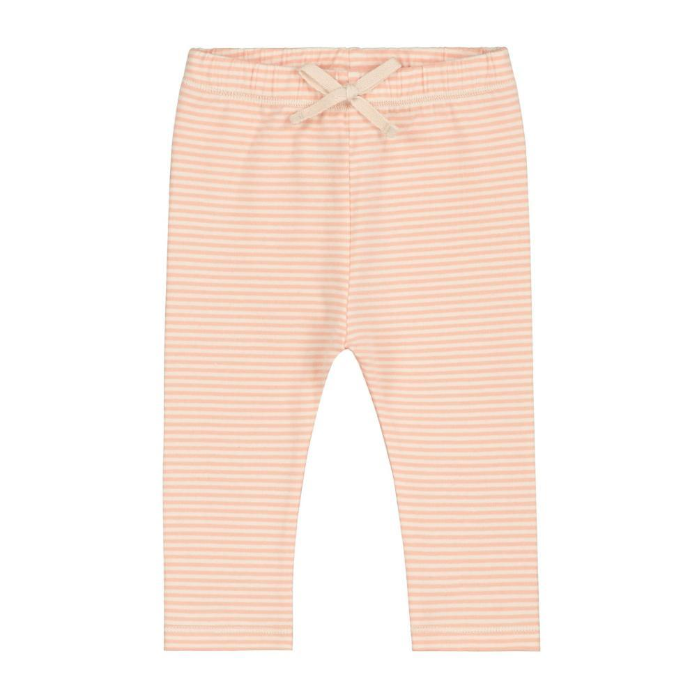 Baby Leggings Pop and Cream Stripe