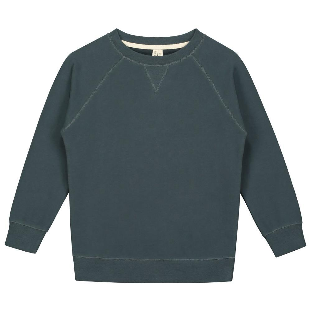 Crewneck Sweater Blue Grey