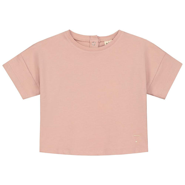 Gray Label Oversized Crop Tee Vintage Pink - Tiny People Cool Kids Clothes Byron Bay