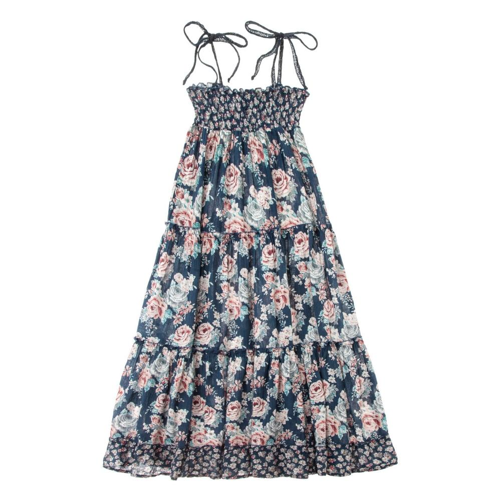 Flowers Long Dress
