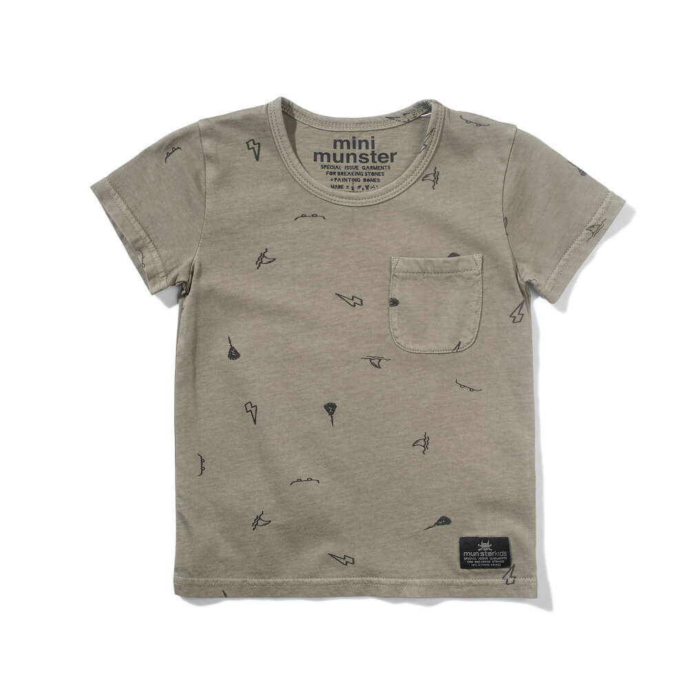 Mini Munster Greener Pastures Tee | Tiny People