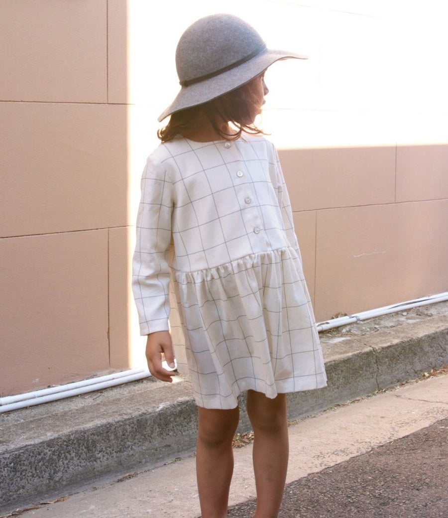 June Kids Georgie Dress - Tiny People Cool Kids Clothes Byron Bay