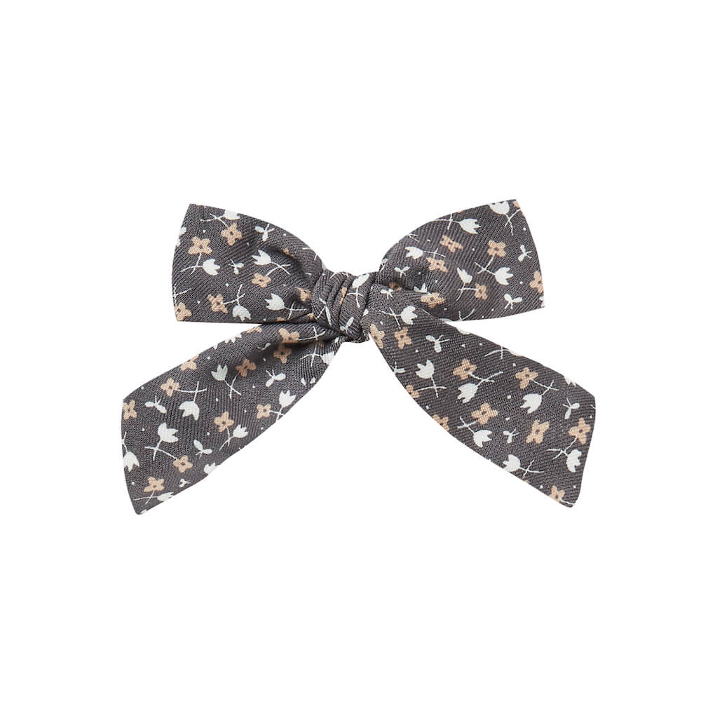 Rylee & Cru Girl Bow Indigo Ditsy | Tiny People