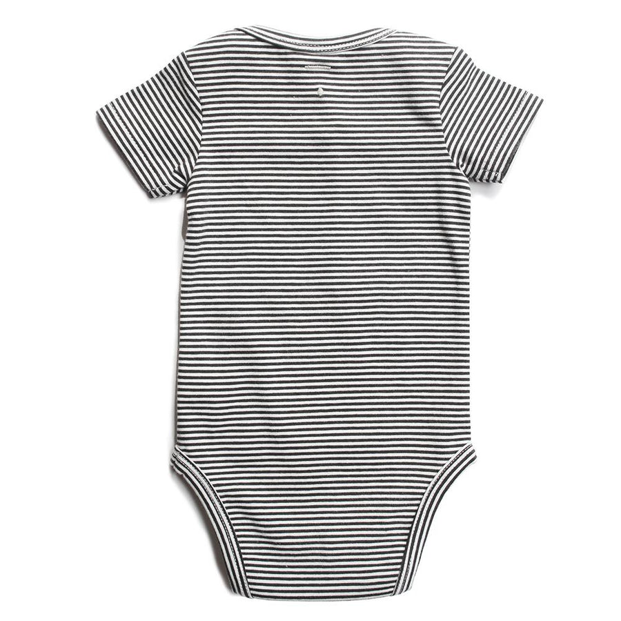 Gray Label Baby Onesie Stripe - Tiny People Cool Kids Clothes Byron Bay