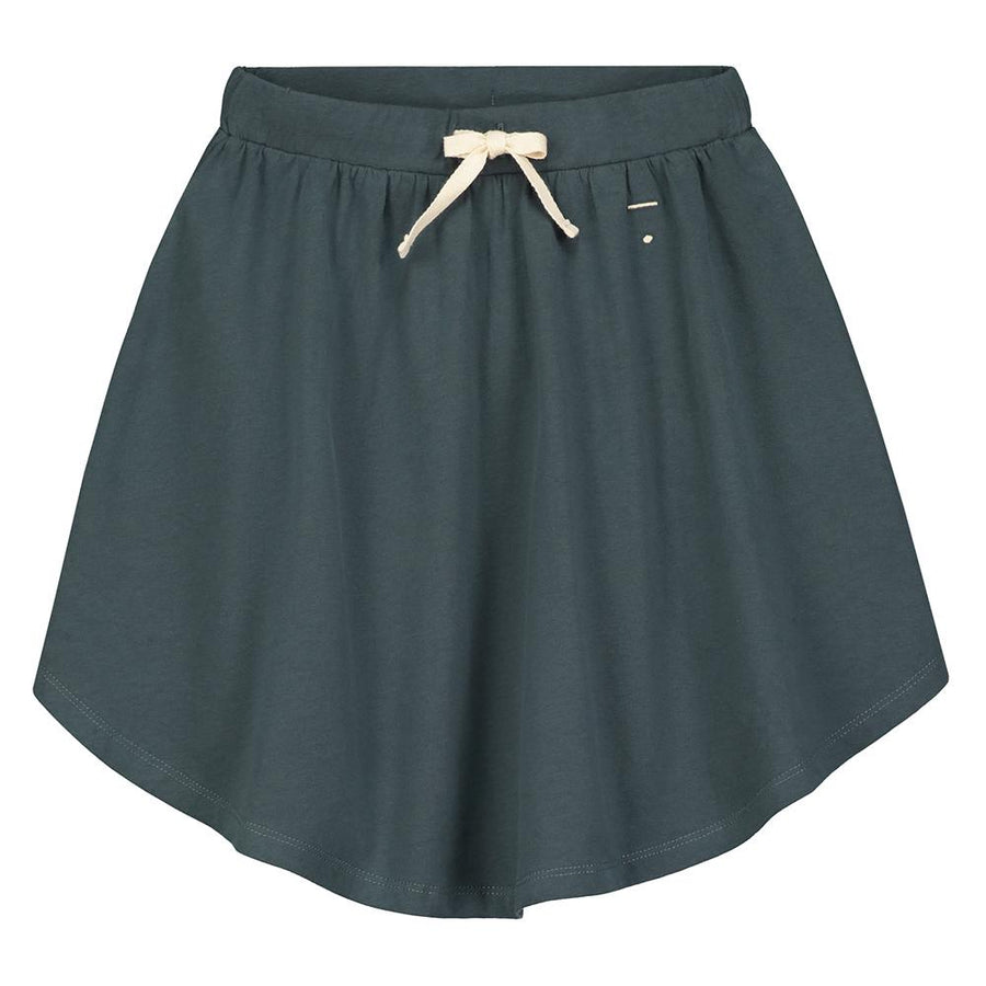 3/4 Skirt Blue Grey