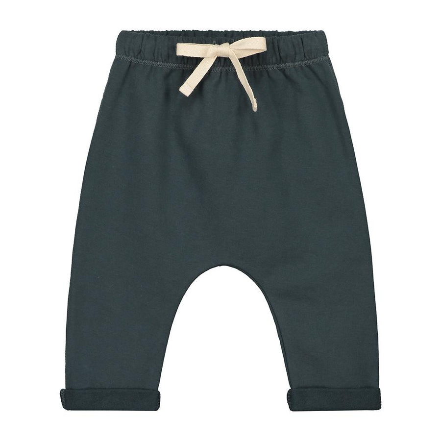 Gray Label Baby Pants Blue Grey - Tiny People Cool Kids Clothes Byron Bay