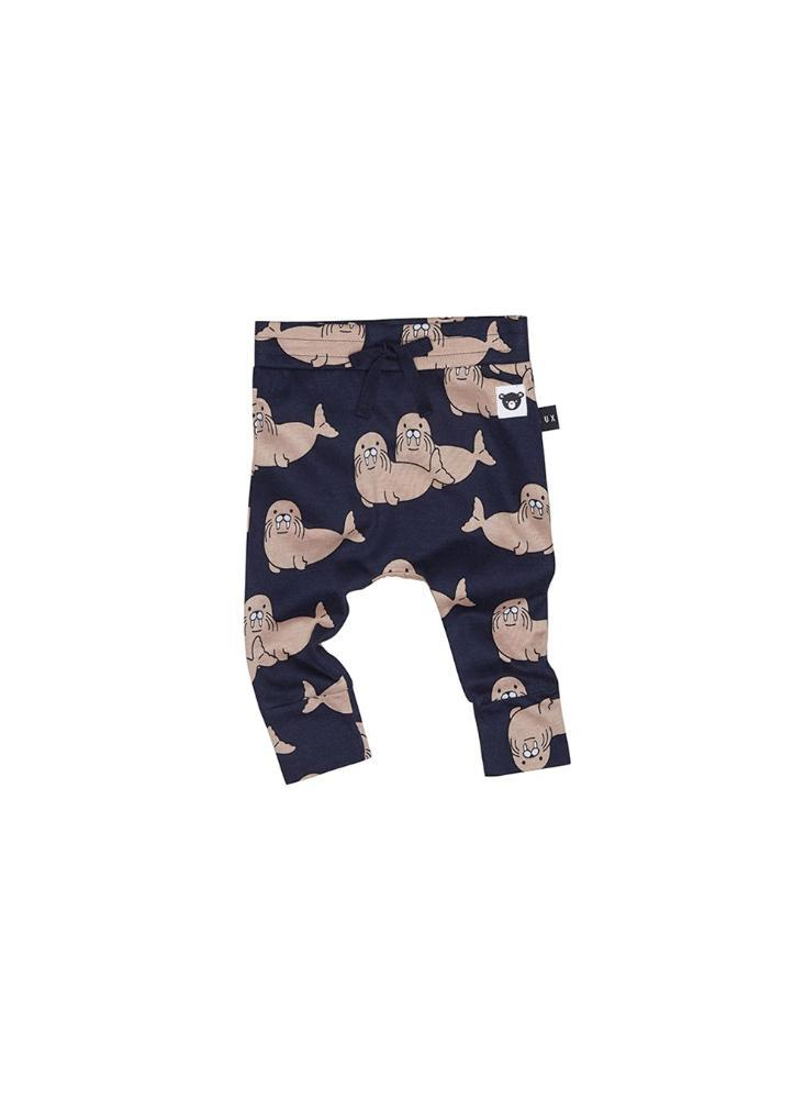 Walrus Drop Crotch Pant Navy