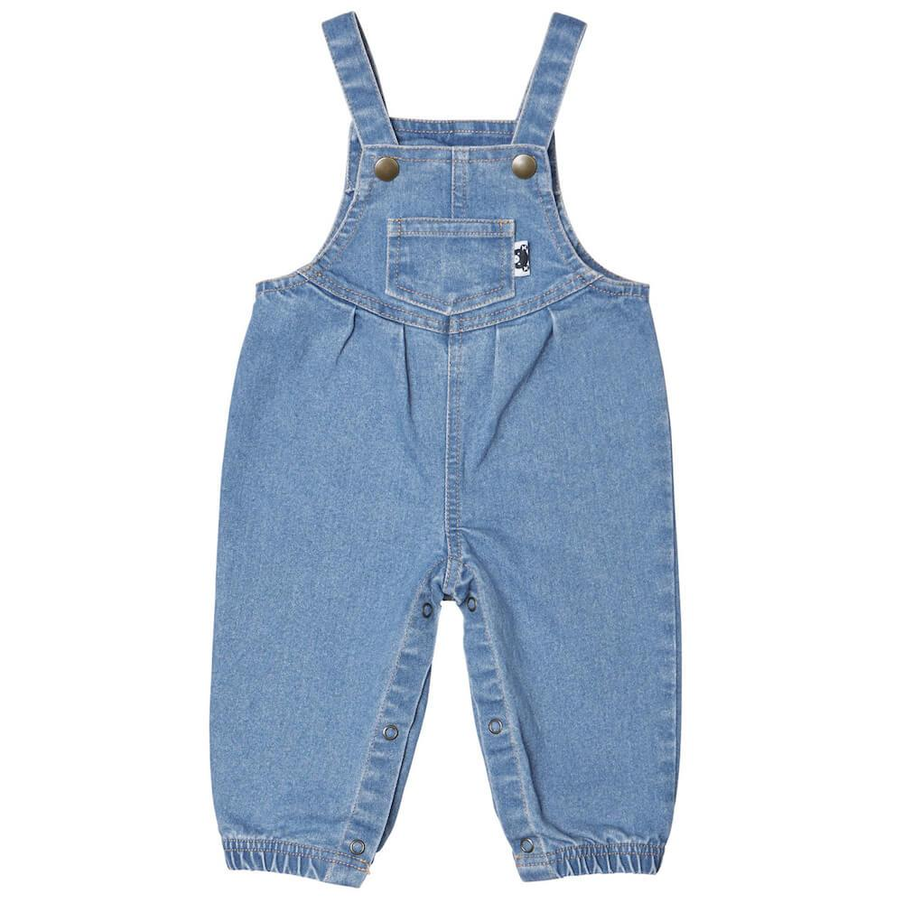 Huxbaby Denim Overalls Boys Tops & Tees - Tiny People Cool Kids Clothes