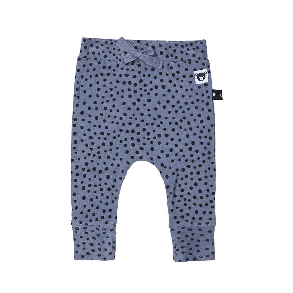 Freckle Drop Crotch Pant Deep Blue