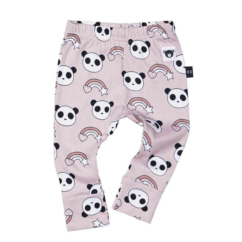 Huxbaby Rainbow Panda Leggings Pants & Leggings - Tiny People Cool Kids Clothes