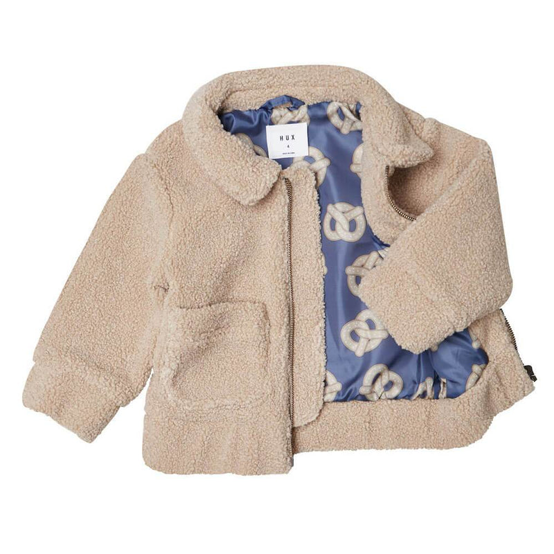 Huxbaby 70's Boucla Jacket Jackets & Vests - Tiny People Cool Kids Clothes