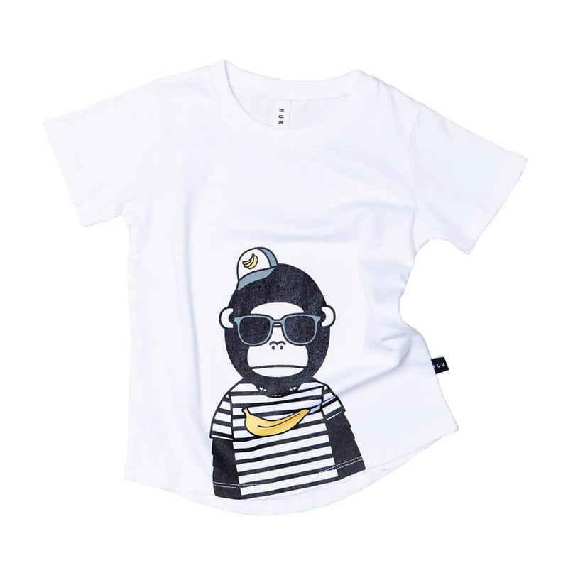 Huxbaby Gorilla T-Shirt Boys Tops & Tees - Tiny People Cool Kids Clothes