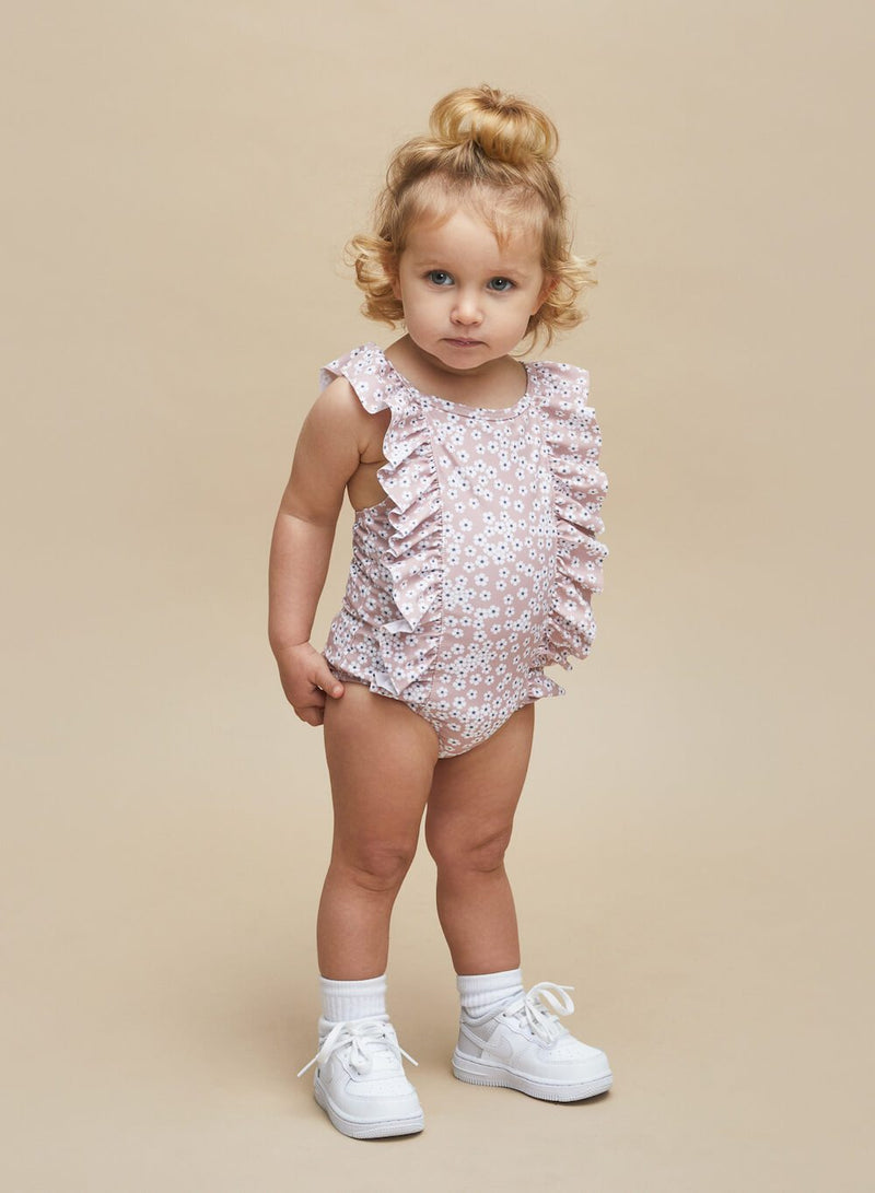 Huxbaby Floral Swimsuit | Tiny People