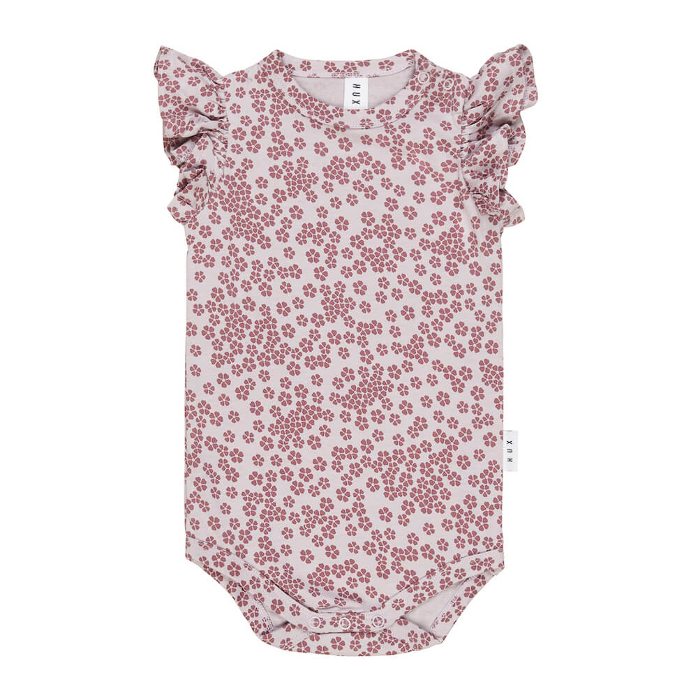 Huxbaby Floral Frill Onesie | Huxbaby
