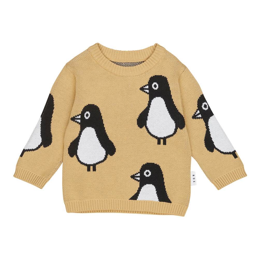 Huxbaby Penguin Knit Jumper | Tiny People