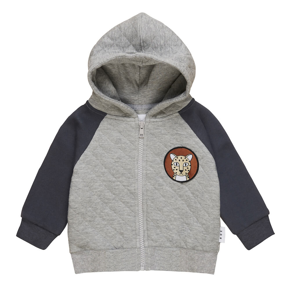 Huxbaby Quilted Hoodie | Tiny People