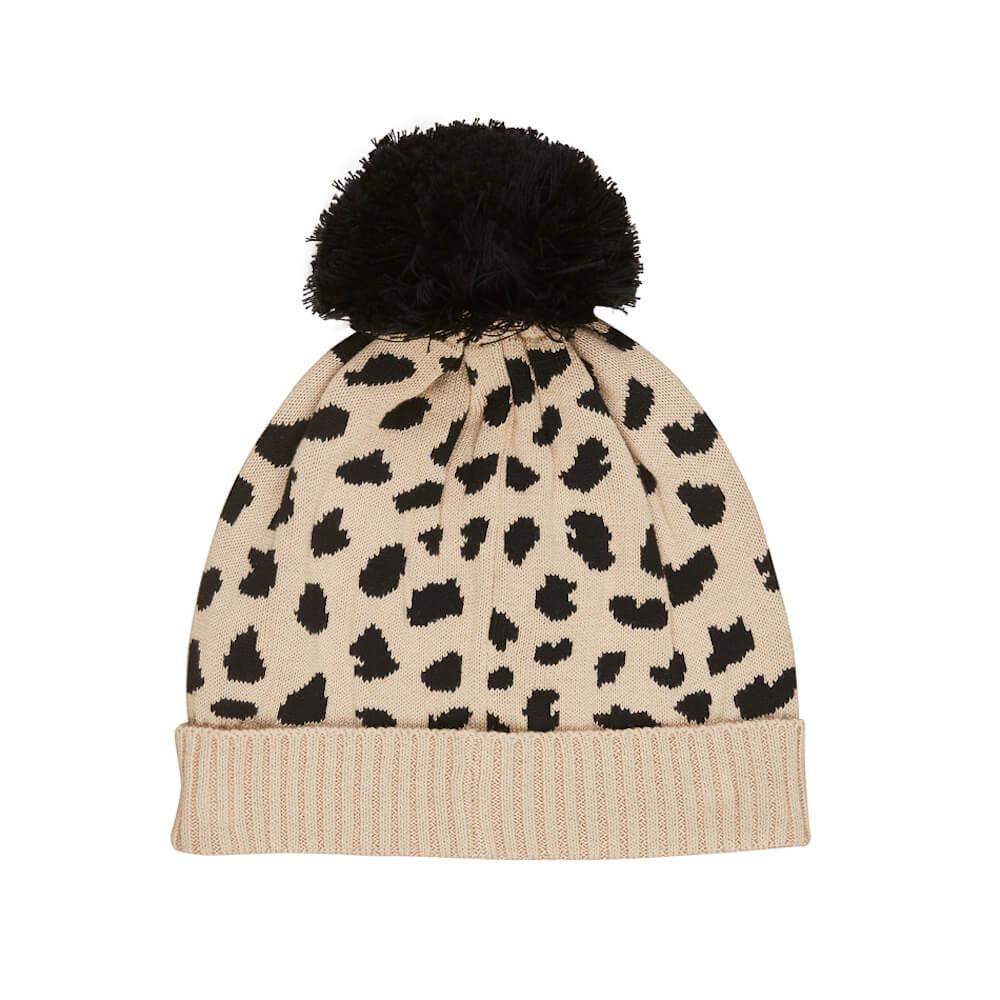 Huxbaby Animal Spot Knit Beanie | Tiny People