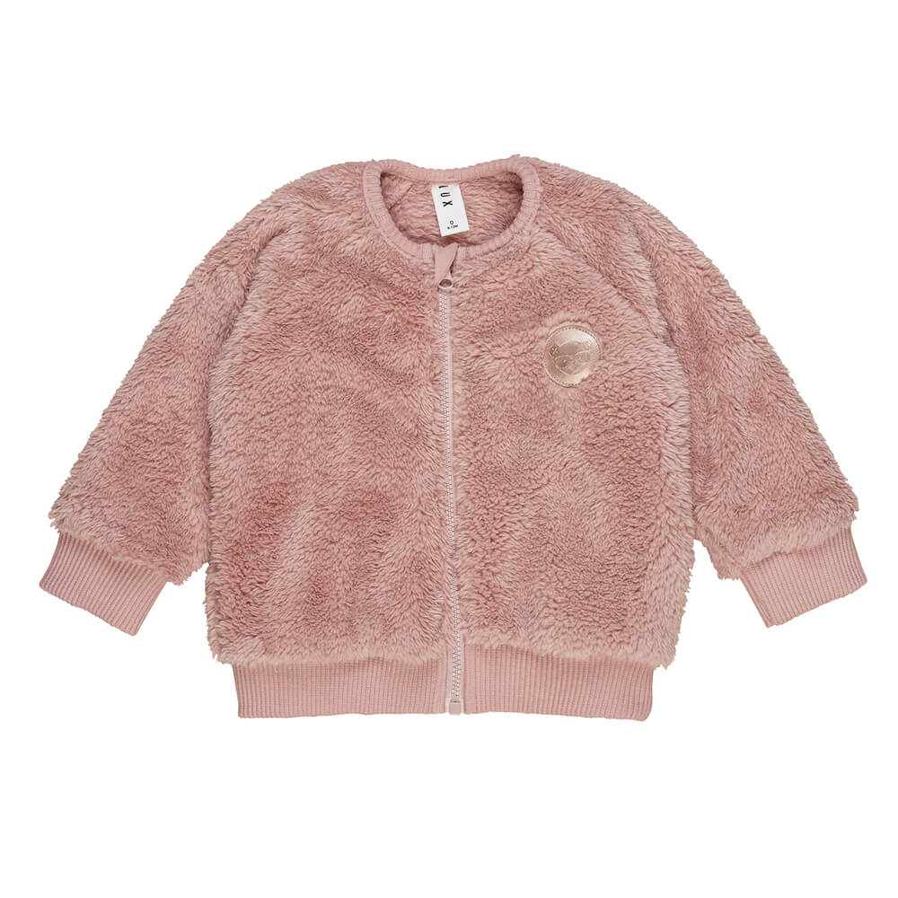 Huxbaby Furry Jacket | Tiny People