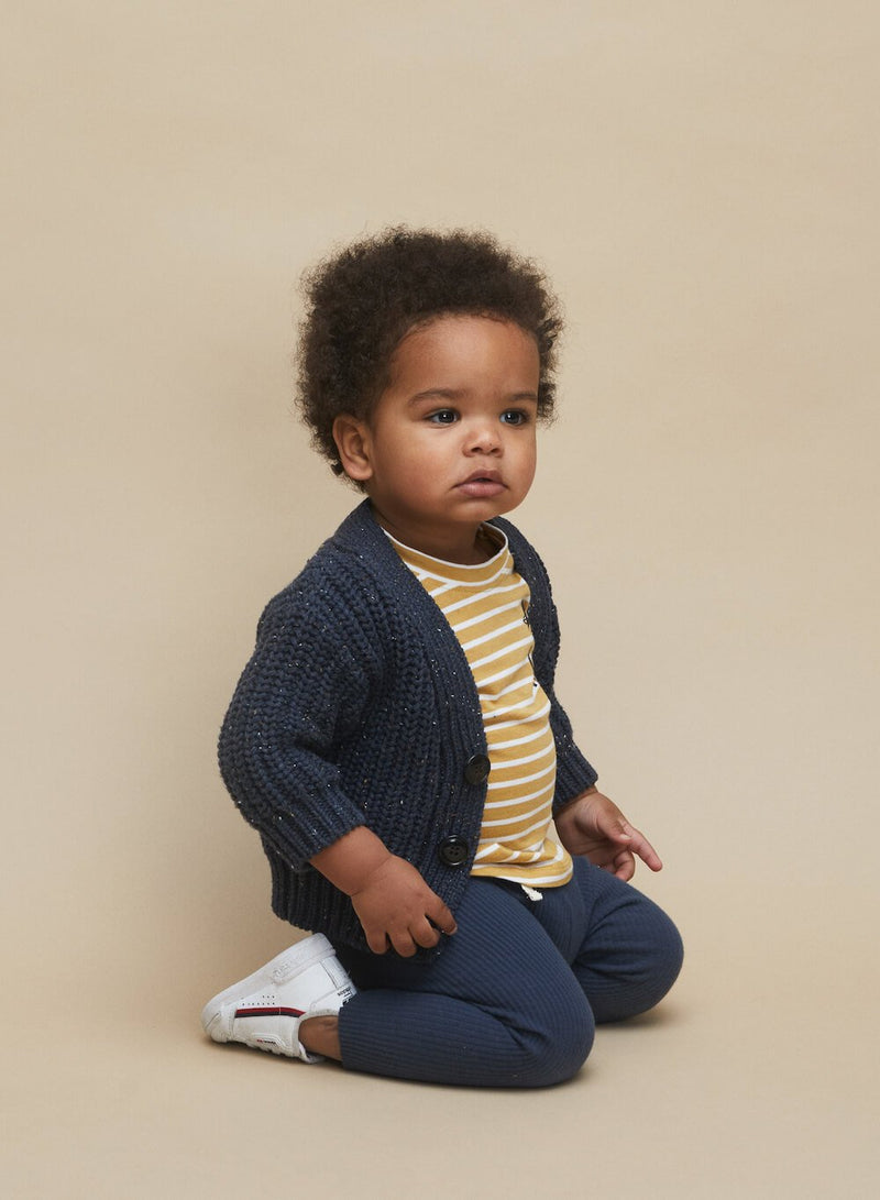 Huxbaby Ink Sprinkles Chunky Cardi | Tiny People