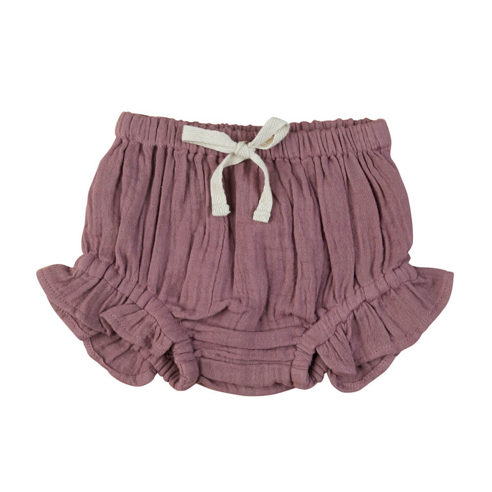 Huxbaby Mulberry Frill Bloomers | Tiny People