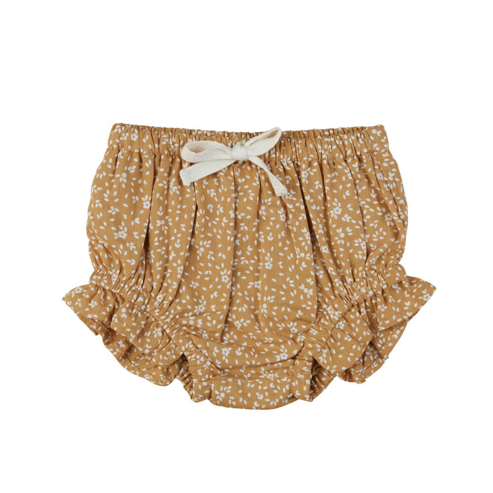 Huxbaby Floral Frill Bloomers Amber | Tiny People