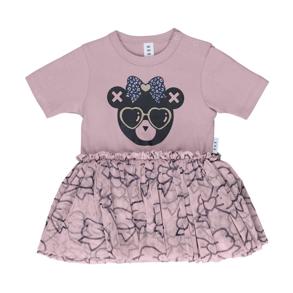 Huxbaby Bow Bear Ballet Onesie | Tiny People