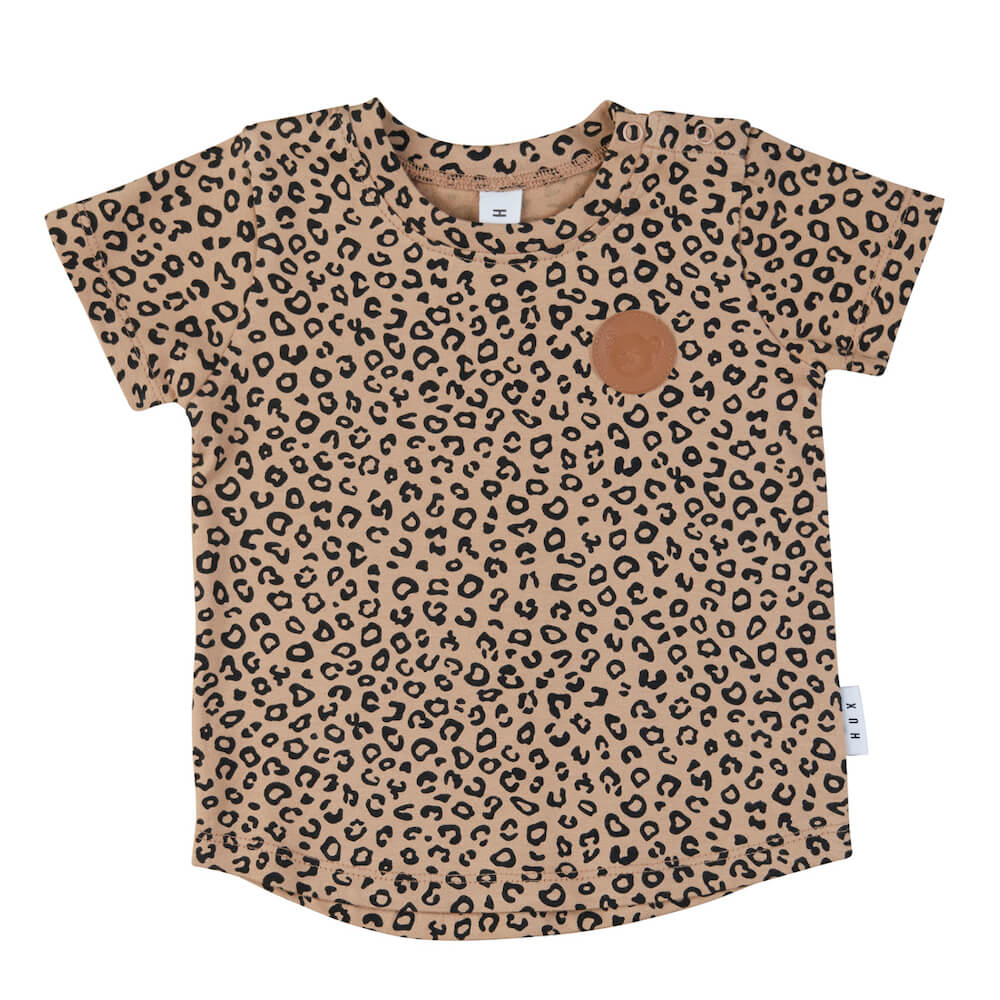 Huxbaby Animal T-Shirt Caramel | Tiny People