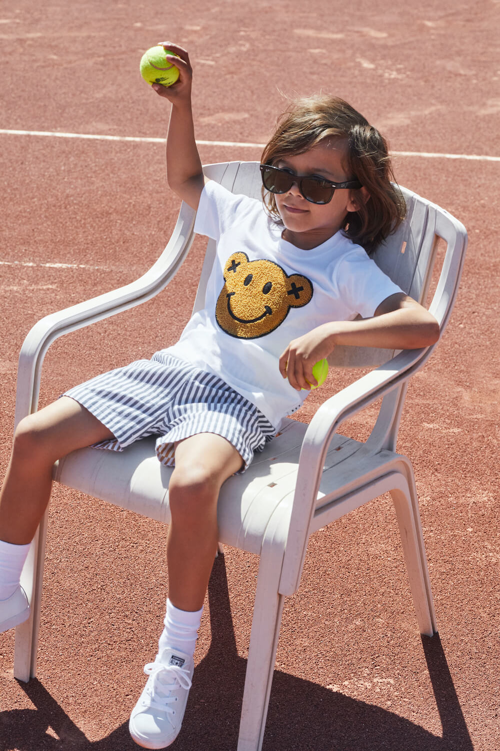 Huxbaby Smiley T-Shirt | Tiny People