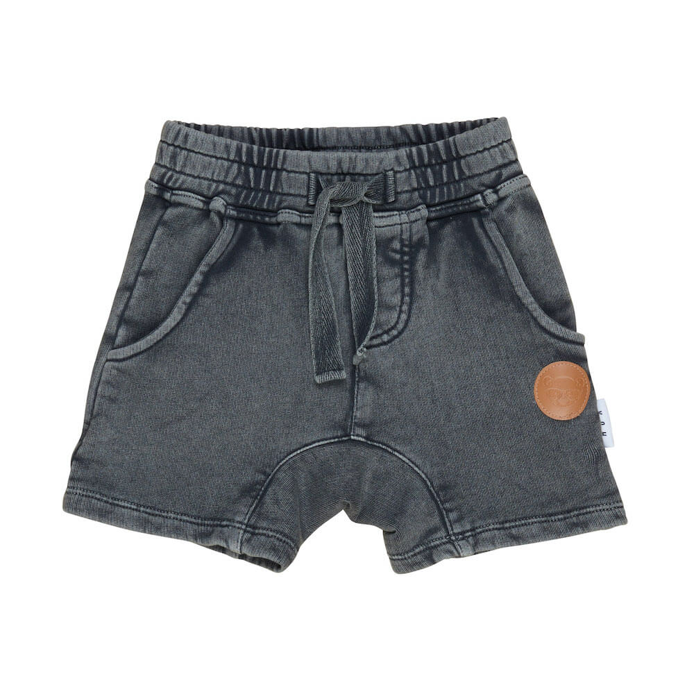 Huxbaby Online Australia Charcoal Slouch Short | Tiny People