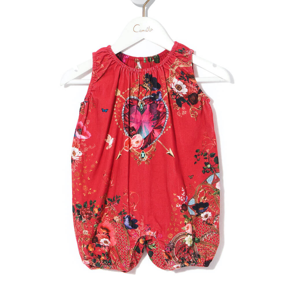 Camilla Beautiful Beings Long Leg Romper | Tiny People