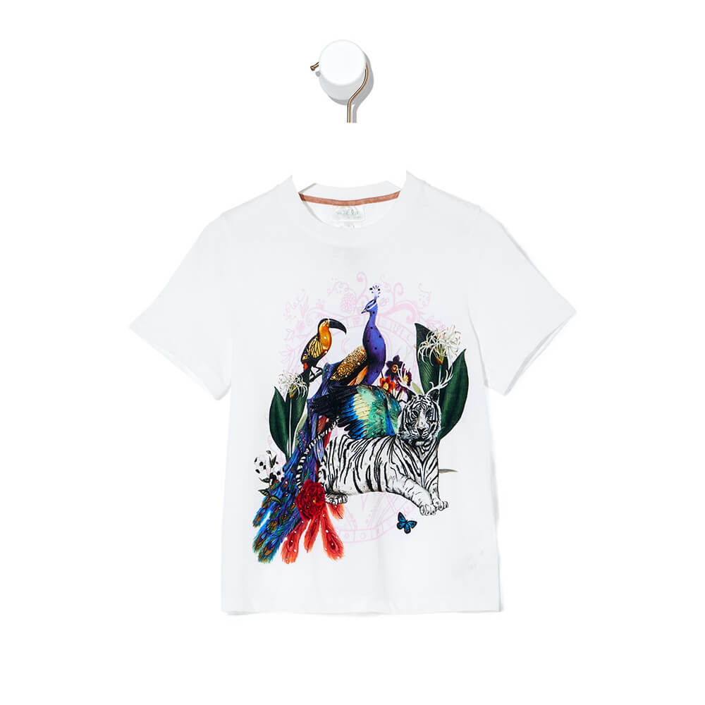 Camilla Gully of Jupiter SS Tee | Tiny People
