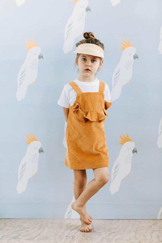 Goldie & Ace Harper Corduroy Dress - Tiny People Cool Kids Clothes Byron Bay