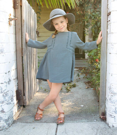 June Kids Honey Dress - Tiny People Cool Kids Clothes Byron Bay