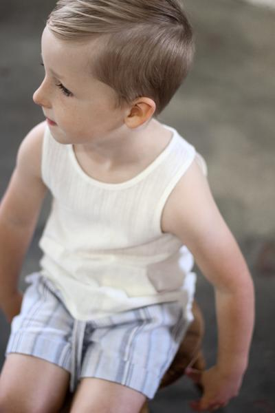 Ruffets & Co. Cooper Shorts - Stripe - Tiny People Cool Kids Clothes Byron Bay