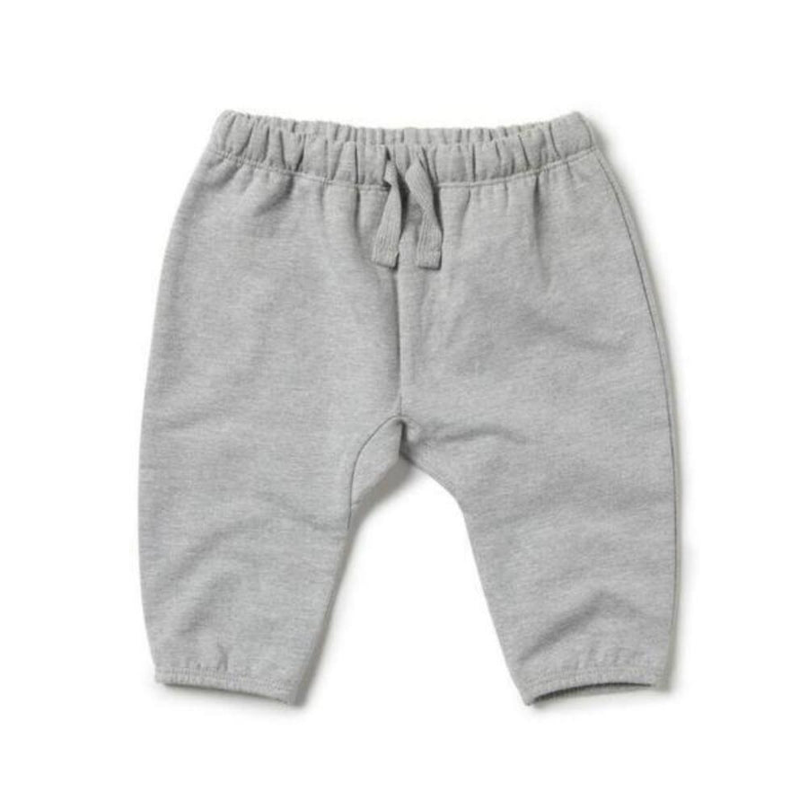 Wilson and Frenchy Slouch Pants - Grey Melange - Tiny People Cool Kids Clothes Byron Bay