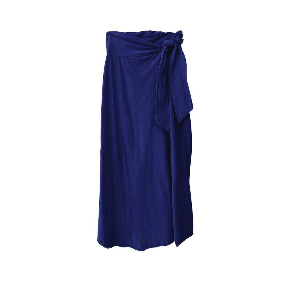 Women's Ina Wrap Skirt Aegean Blue